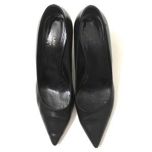 Saint Laurent Shoes - Saint Laurent Woman's Black Leather Heels